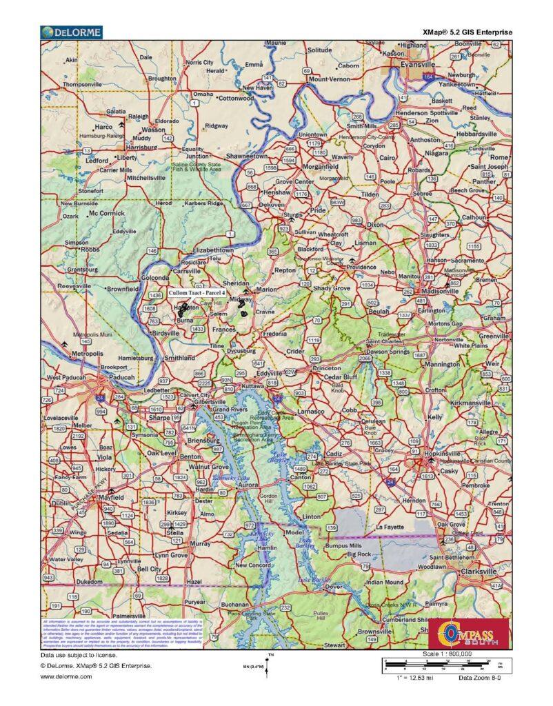 Cullom Tract 4 Location Map