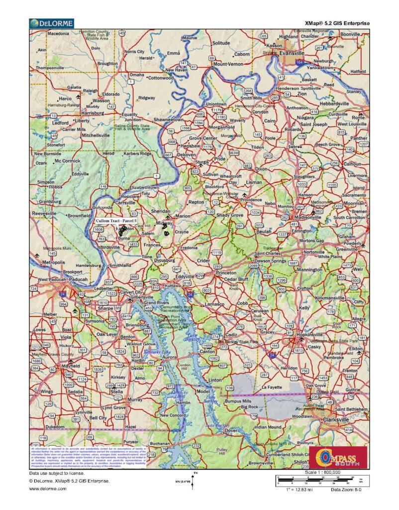 Cullom Tract 5 Location Map