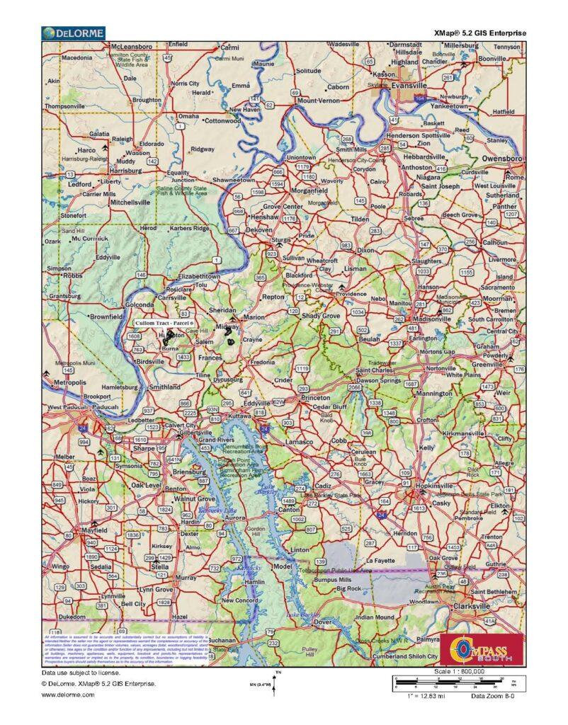 Cullom Tract 6 Location Map