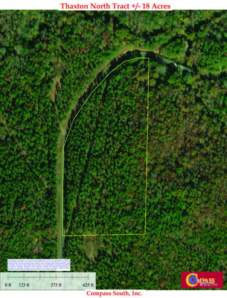 Thaxton North Aerial Map