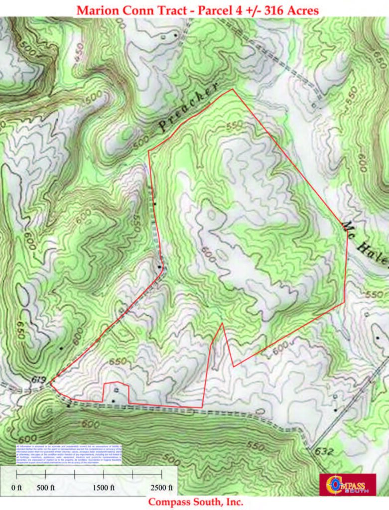 Marion Conn Tract 4 Topo Map