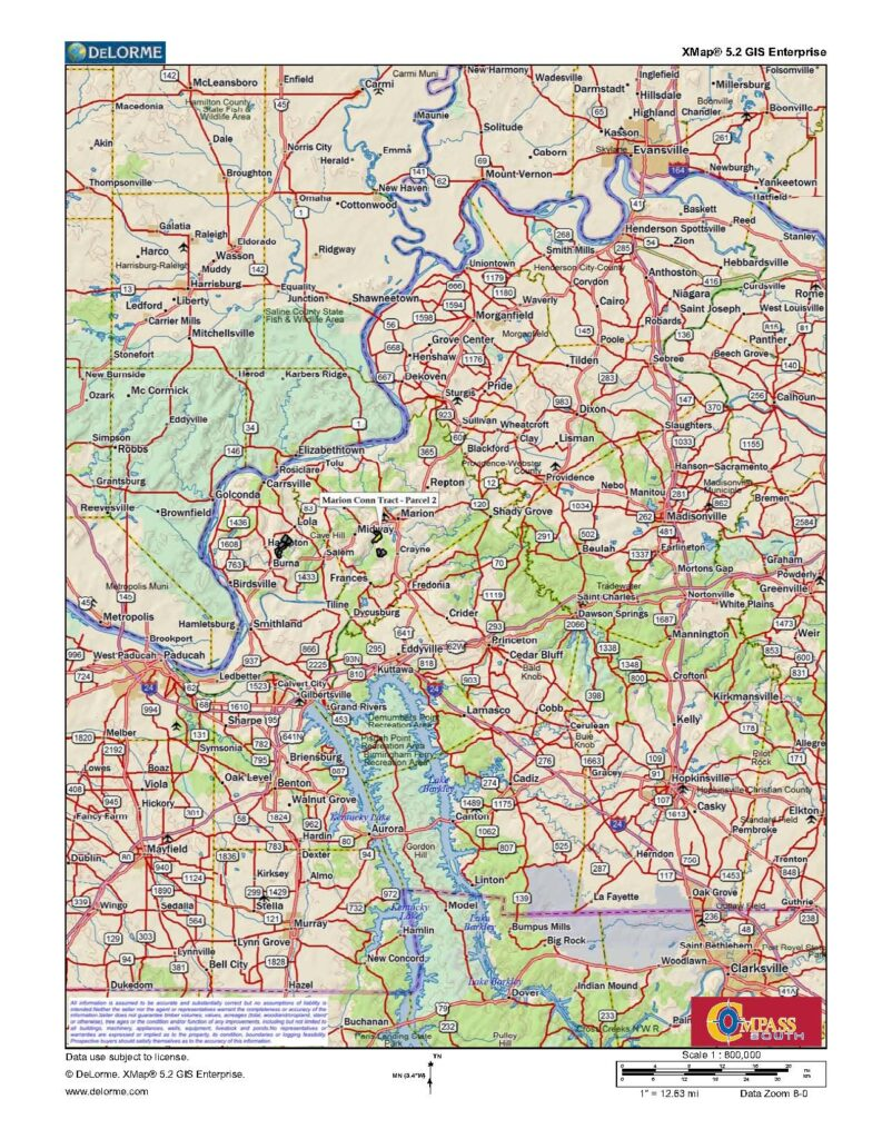 Marion Conn 2 Location Map