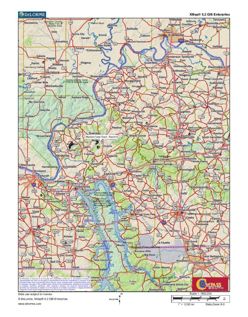 Marion Conn Tract 4 Location Map