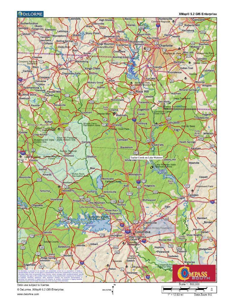 Taylor Creek Location Map 1