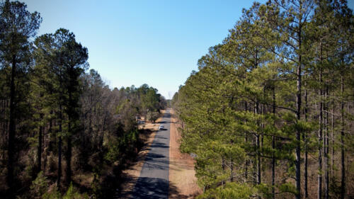 Wagener Trail Paved Road