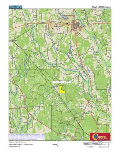Lewis South Tract Loc Map 2 8-14-20