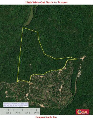 Little White Oak North Aerial Map