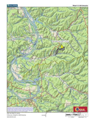 Little White Oak North Loc Map 2
