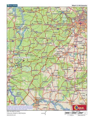 Little White Oak West Loc Map 1