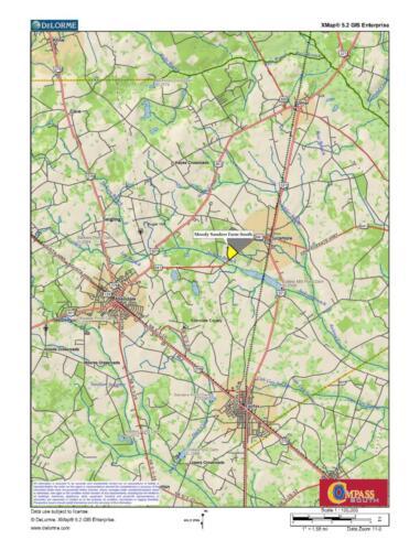 Moody Sanders Farm South Loc Map 2