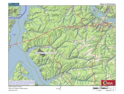 Standing Rock - Ph 1 - Tract 3 Loc Map 2