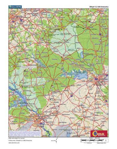 Whitehall East Loc Map