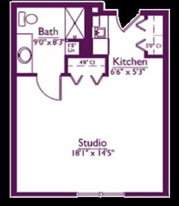 EastView Floor Plan ES