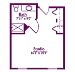 EastView Floor Plan