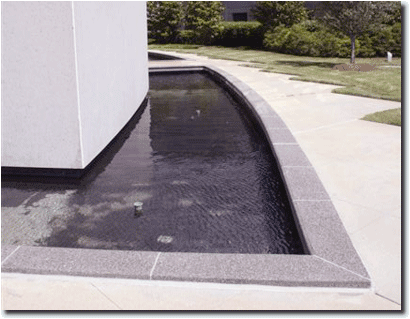 Granite Water edging