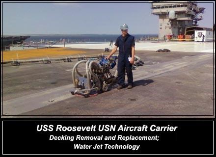 USS Roosevelt USN Aircraft Carrier