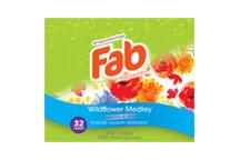 Fab Wild Flower Medley Powder Laundry Detergent (2.6 lbs)