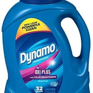 Dynamo Oxi Plus Color Brightener Liquid Laundry Detergent (50oz)