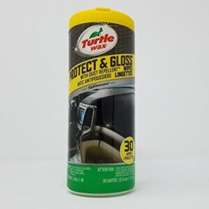 Turtle Wax Protect & Glass Automotive Protectant Wipes (30-count)