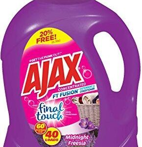 Ajax Laundry Ft Fusion Duel Liquid Laundry Detergent, 60 Fluid Ounce