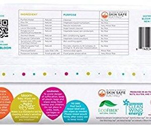 bloom BABY Sensitive Skin Unscented Hypoallergenic Baby Wipes,240-Count