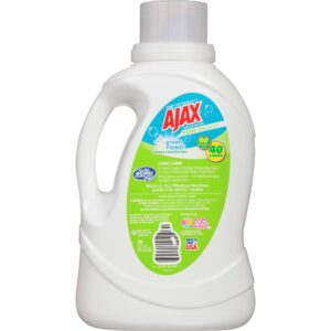 Ajax Laundry Pure Unscented Liquid Laundry Detergent, 60 Fluid Ounce