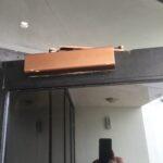 Fire Door Inspection require that all Fire doors close and latch the door