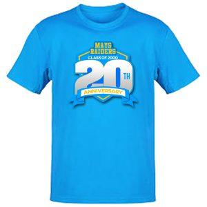 Mays Raiders Class of 2000 Reunion T Shirts