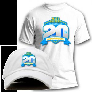 Mays Raiders Class of 2000 Dad Cap & Shirt