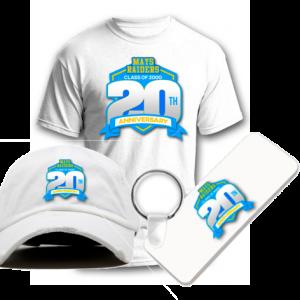 Mays Raiders Class of 2000 Dad Cap Shirt Keychain