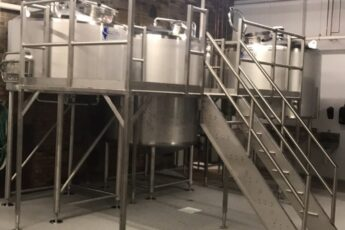 Fifth Ward taproom all new equipment