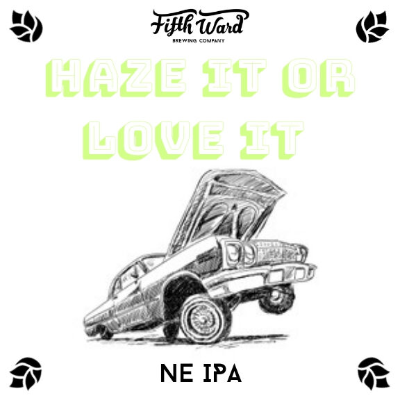 Haze it or Love it NE IPA