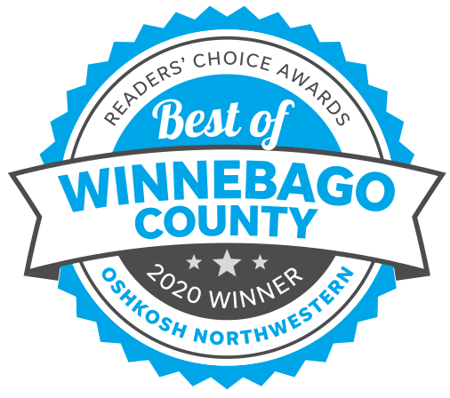 Best of Winnebago County Award seal