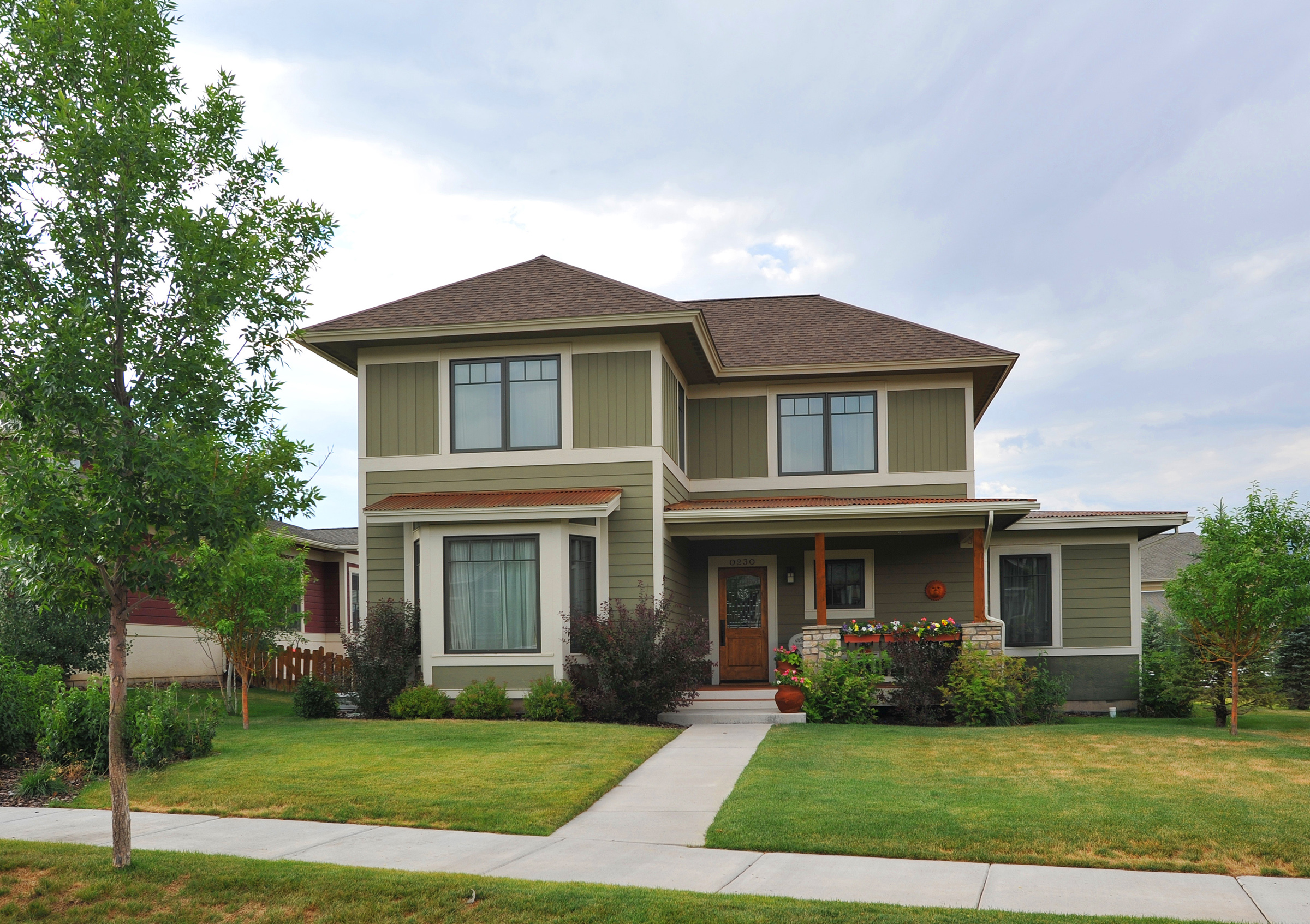 Exterior image of a home at Aidan's Meadow