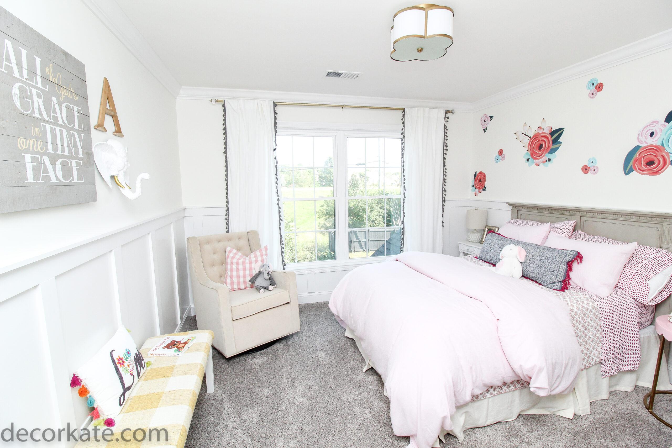 blush pink room