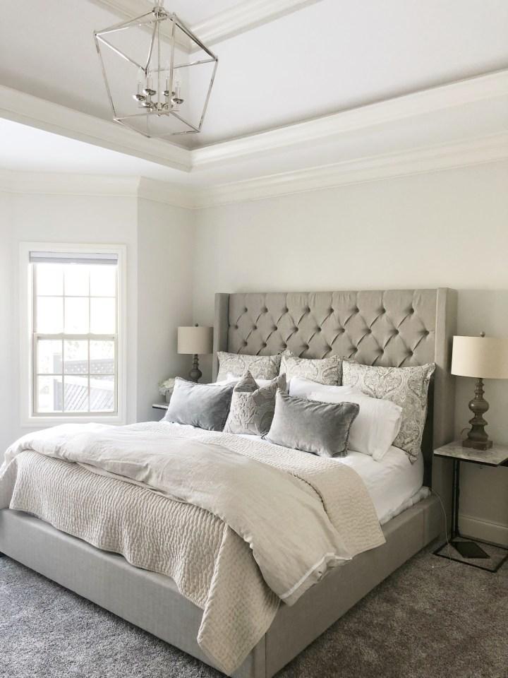 lantern light in master bedroom