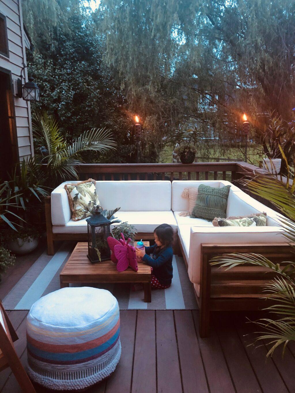 Summer Deck Decor