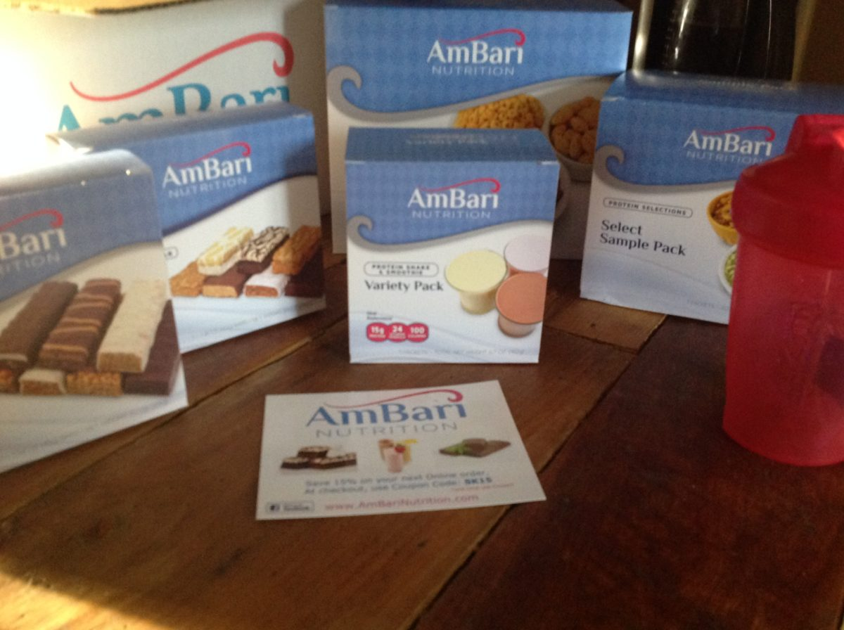 Bariatric Starter Kit from AmBari Nutrition