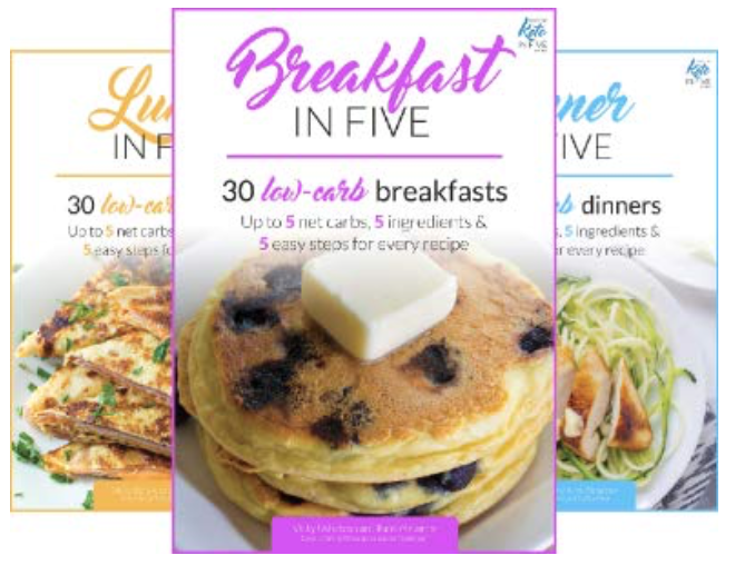 Keto in Five book series