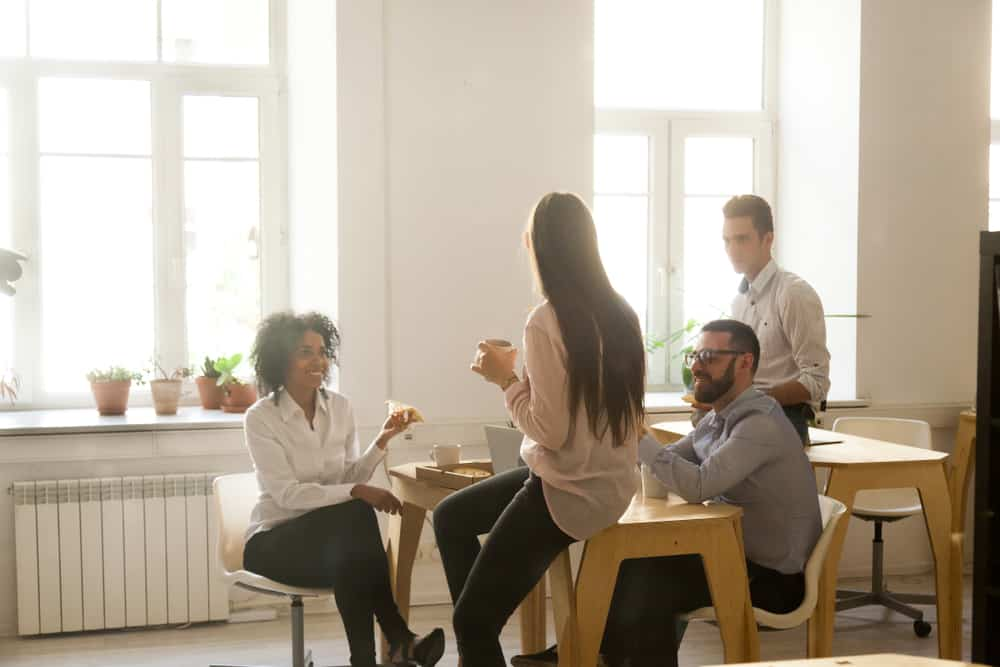 taking breaks boosts office space success