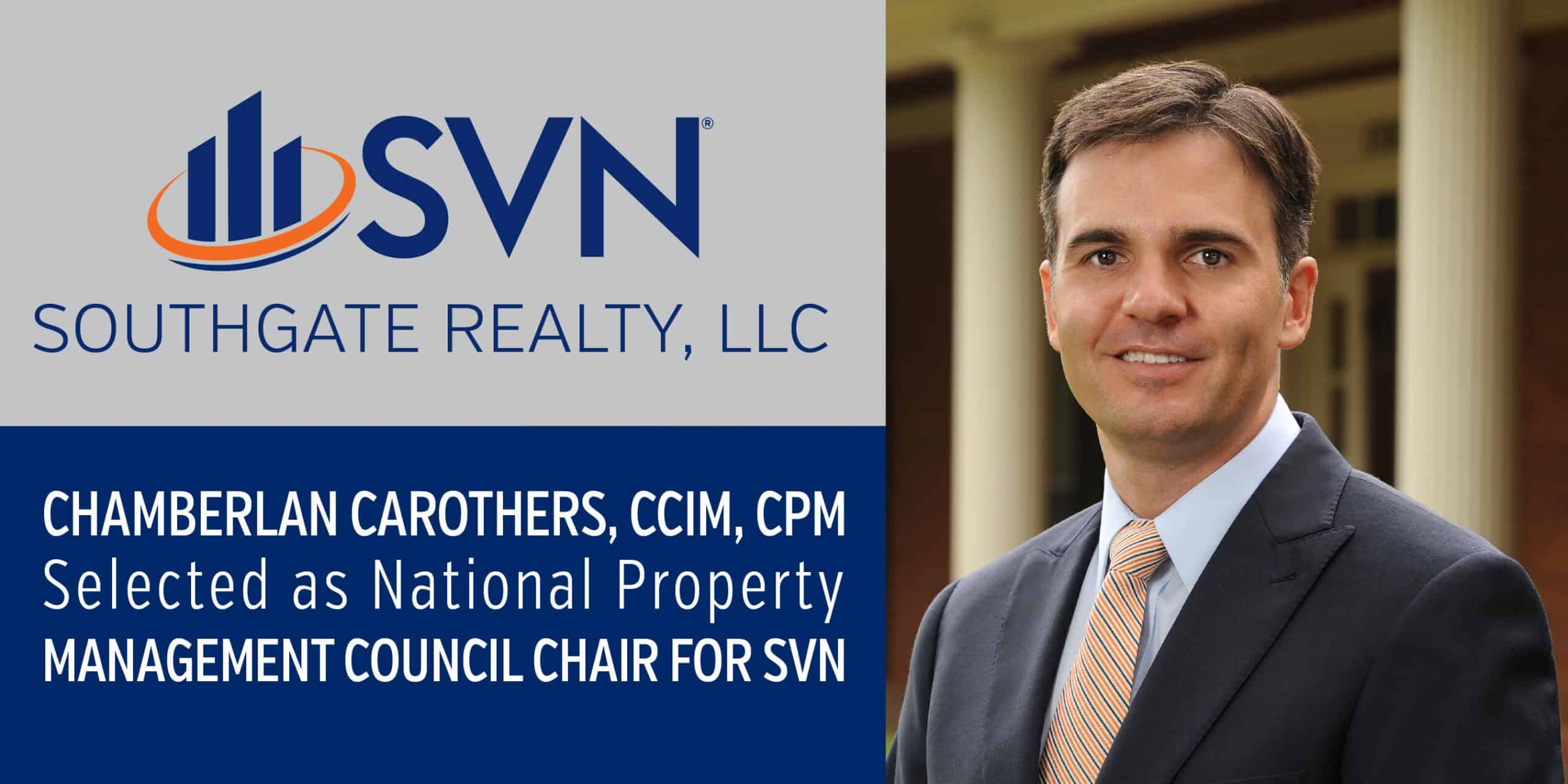 Carothers Selected as Council Chair for SVN