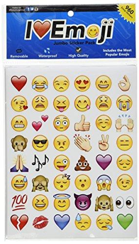 Emoji Jumbo Pack: 960 Of Your Favorite Emojis – By Everything Emoji