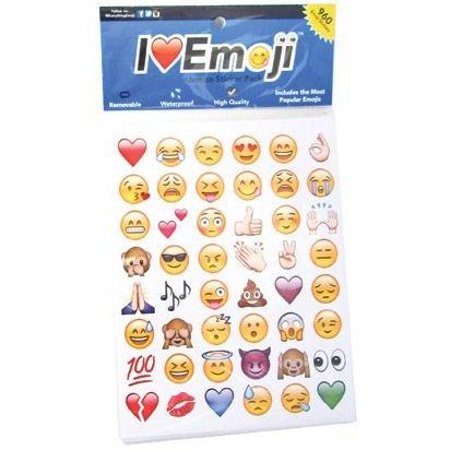 Emoticon Emoji Stickers Assortment Pack (288 Stickers)