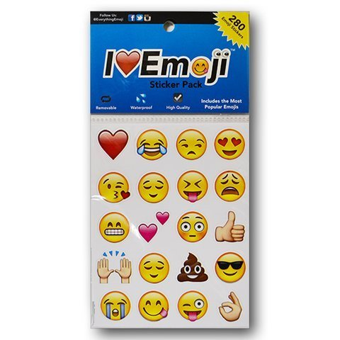 I love Emoji Sticker Pack – 280 Emoji Stickers