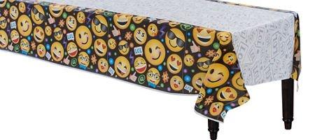 LOL Emoji Plastic Tablecover Birthday Party Supplies