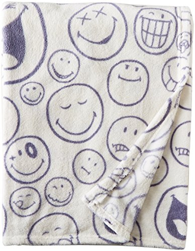 Smiley World 50 x 60″ Throw Blanket