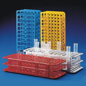 Rack, 16/17mm Test Tube, 90-Place, Polypropylene