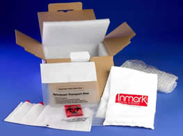 Insulated Ambient Shipper Kit, with bubble bag, gel wrap, 95KPA pressure bag, and Aquipack absorbent