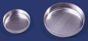 Aluminum Dish Smooth, 103 mm
