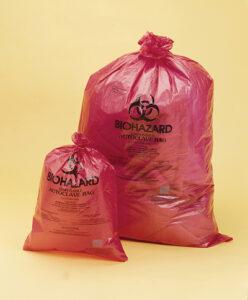 "38x48"" HDPE Biohazard Bag, 1.5 mil"